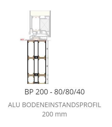 P 200 Bodeneinstand Neubau