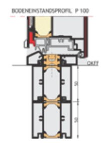 P 100 Bodeneinstand Neubau